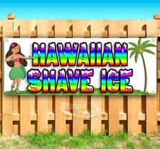 Hawaiian Shave Ice Advertising Vinyl Banner Flag Sign Many Sizes Usa Treat