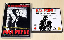 2 PC SPIELE SET - MAX PAYNE 1 & 2 - THE FALL OF MAX PAYNE