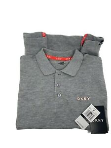 DKNY Boys' Solid Block Pique Polo