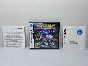 Sonic Colors - Authentic - Nintendo DS - Case / Box Only! (NO GAME)