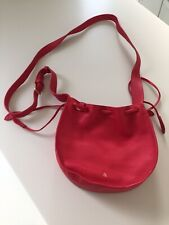 Bell & Fox Red LILA Drawstring Crossbody Bag