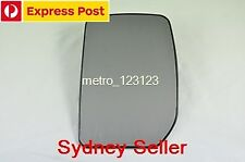 LEFT PASSENGER SIDE FORD TRANSIT MK6/MK7 2000-2013 MIRROR GLASS WITH BACK PLATE