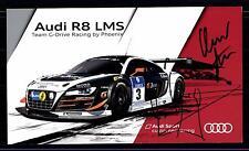 Team G Drive Autogrammkarte Original Signiert Motorsport + G 12758