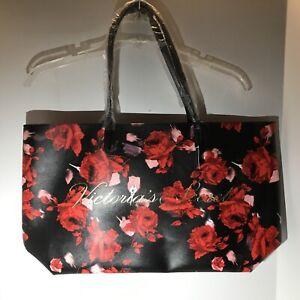 Victoria Secret Floral Tote Rose Flowers Shoulder Weekender Bag Limited Edition.