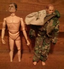 1964 & 1996 G I JOE vintage figures ,  camouflage clothing gasmask & accessories