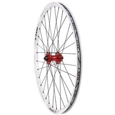 """HALO Vapour Tubeless XC Trail Front Wheel 26"""" MTB Bicycle 15mm / 20mm / QR White"""