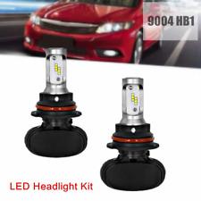 2×9004 HB1 LED Headlights Bulbs 55W 8000LM Kit Hi Low Beam Upgrade 6000K Driving
