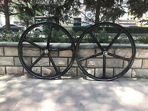 """CDHPOWER 29""""/700C Mag Wheel Set/Magnesium Bike Wheel Rims-Gas Motorized Bicycle"""