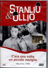 STANLIO & OLLIO: C'ERA UNA VOLTA UN PICCOLO NAVIGLIO - DVD NUOVO, NO EDICOLA