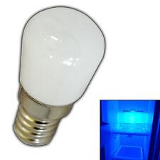 E14 LED 1,5 Watt Blau Kühlschränke Kühlschranklicht Blaulicht Lampe Leuchtmittel