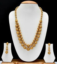 Indian Bollywood Ethnic Beaded Necklace Set Traditional Beautiful jewellery