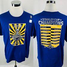 St. Louis Blues 2019 Stanley Cup Champions T-Shirt Mens XL X-Large