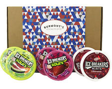 Ice Breakers USA Gift Box - Berry Sours, Original Sours & Cinnamon - 6 Pack