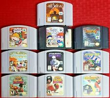 Nintendo 64 Game Lot (10 Games) - N64 - No Duplicates - Tested & Authentic