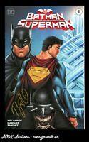 Batman/Superman #1 - Comics Elite Exclusive - Signed by Ryan Kincaid