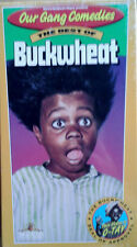 OUR GANG COMEDIES / BEST OF BUCKWHEAT - VHS TAPE - STILL SEALED