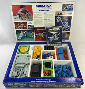 Fisher Price Construx 578 Land Air Adventure Complete Box Instruction 180 Pieces
