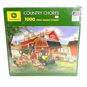 Great American Puzzle Factory John Deere Country Chores 1000pc Jigsaw Puzzle