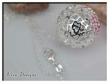 925 Sterling Silver Pendant Chain Necklace