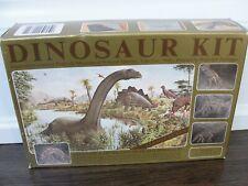 Stegosaurus Dinosaur Excavation Kit Fossil Digging Toy Vtg New Kristal Corp 831