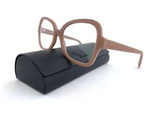 New PRADA Frames Women's RX Eyeglasses VPR 25S UFF 1O1 Matte Blush 53 18 135