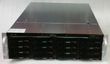 "SuperMicro 3U CSE-836 Server Chassis w/ 2x PSU, Rails, 16x 3.5"" Drive Caddies"