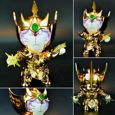 DoraCat Doraemon x Saint Seiya Myth Cloth Gold Aries Mu 30th Figurine No Box