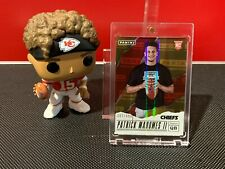 2017 Panini Fathers Days Patrick Mahomes Rookie Refractor SP #7/499 Chiefs!