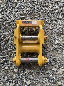 John Deere Hitachi 35ZTS 35D 35G 30 Excavator Manual Wedge Quick Coupler Set