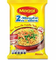 Maggi 2 Minutes Noodles Masala, 70 grams pack 2.46 oz Made in India select qty