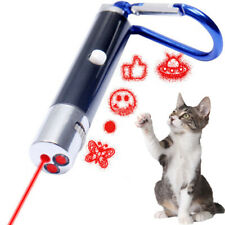 2 in 1 Red Laser Pointer Pen 5 Patterns With White LED Light Pen Pet Cat Toy