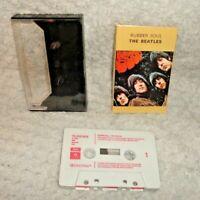 The Beatles Rubber Soul Music Cassette Tape Red