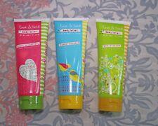 LOVE & TOAST Body Lotion LOT x3 Honey Coconut, Gin Blossom, Sugar Grapefruit