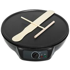 Non-Stick Electric Griddle Pancake Crepe Maker w/ Spatula, Spreader, Indicator L