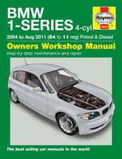 H4918 BMW 1-Series 4-cyl Petrol & Diesel (2004 to Aug 2011) Haynes Repair Manual