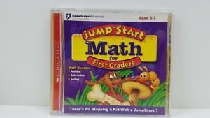 Jump Start Math for First Graders For Mac or PC Like EUC Free Shipping