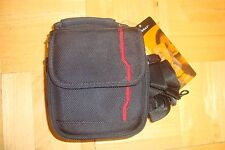 FORAY Camera Case Case Travel Tote Carry-on / Black canvas  * Med-Small Camera