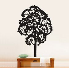 """Vinyl Wall Decal Sticker Tree Picture 72""""x45"""" 6 ft tall"""