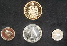 1967 Canada Centennial Prooflike Set in Original Black Box Rare $20 Dollar Gold