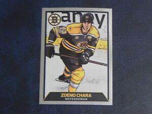 2017-18 17/18 NHL Panini Stickers Illustrated Foil #11 Zdeno Chara Boston Bruins