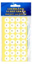 Amplificateur de trou renforçant LES ANNEAUX lochrandverstärker blanc 320 PIÈCE