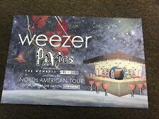 "Weezer Pixies Wombats 2018 North American Tour Promo Poster 12""x18"""