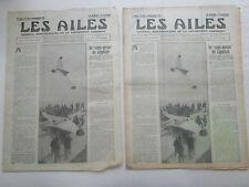 AILES 1931 536 LIPPISCH GUILLEMIN JG-10 BREDA 33 ALTIMETRE HELICOSTAT ECOLE