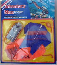 ADVENTURE MAN SET ABITO SOMMOZZATORE 1976 CECIL COLEMAN MADE IN HONG KONG