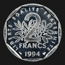 France : 2 Francs 1994 BU / Semeuse :(franco de port)