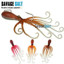 Artificial Pesca 3D Ocotpus Savage Gear 70 Gr Pulpo Vertical Traína Silicona
