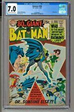 Batman #208 - CGC 7.0 - 80 Page Giant