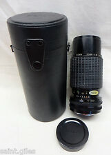 SIGMA ZOOM-Κ II 1:4.5 f=70~210mm MULTI-COATED CAMERA LENS ⌀52, FOR KONICA
