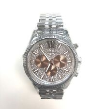 69b03321733f Michael Kors MK8515 Crystal Pave Dial Stainless Steel Chronograph Men s  Watch