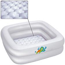 Piscina hinchable infantil para bebés bañera 86x86x25cm antideslizante Vinilo